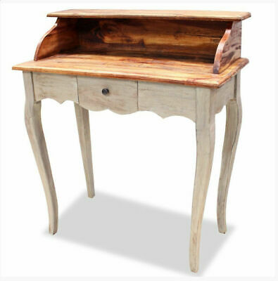Shabby Chic Writing Desk Bureau Antique Vintage French Style Furniture 1 Drawer