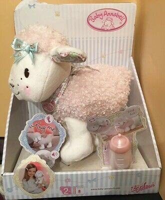 BNIB Zapf Creation Baby Annabell Walking Little Lamb Doll Suitable 2+