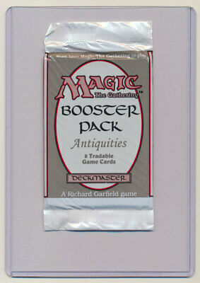 MTG Magic the Gathering Antiquities Booster Pack FACTORY SEALED!!
