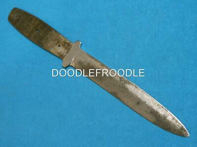 Rare Antique 1920-64 Case Tested Xx Knife Blade Blank Hunting Knives Vintage Old