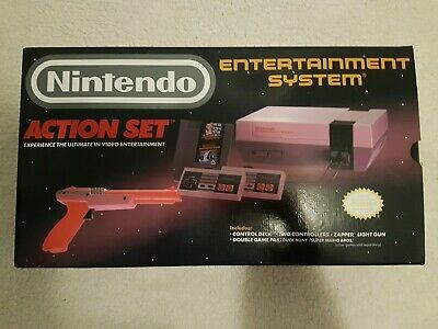 Nintendo Entertainment System Action Set 100% BRAND NEW NES RED ZAPPER BEAUTIFUL