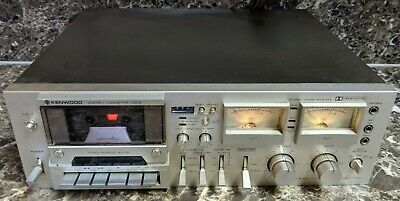 Kenwood KX-1060 Cassette Deck Stereo Recorder Great Condition Tested Working