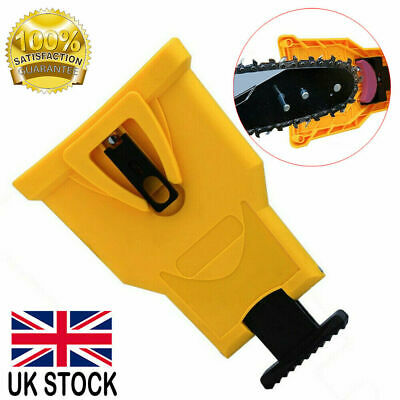 New Woodworking Grinding Saw Chain Sharpening Tools Chainsaw Teeth Sharpener UK