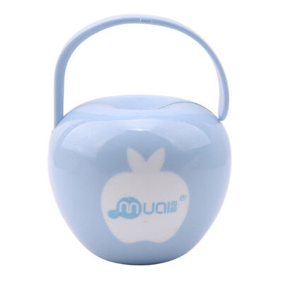 Apple Shapes Baby Infant Soother Holder Pacifier Box Travel Storage Case AA3