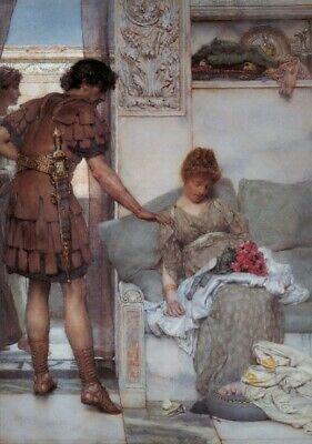 Puzzle 1000 pièces Sir Lawrence Alma-Tadema : A Silent Greeting (45718)