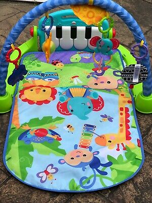 4 in 1 Fitness Baby Gym Play Mat Lay Play Music And Lights Fun Piano Boys