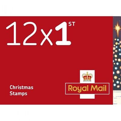50x12 (600 stamps) 1st Class Xmas Stamps Special Offer Worth £420