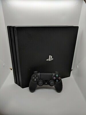 Sony PlayStation 4 Pro 1TB Console - Black -  Controller & Leads