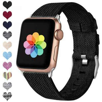 HUMENN Compatible with Apple Watch Strap 38mm 40mm 42mm 44mm, Replacement Woven