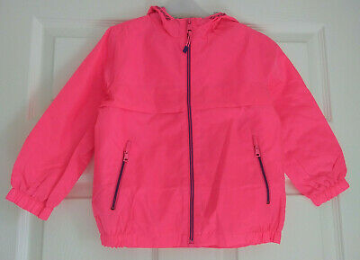 Next Pink Hooded Rain Mac | Ages 3-15 Years | Brand New