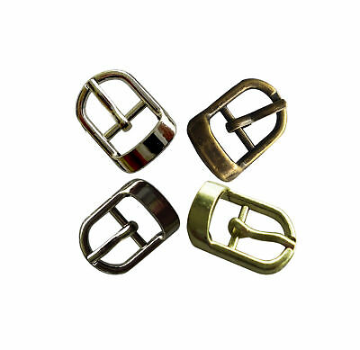 Small Metal Buckles for straps 10mm wide, 4 colours