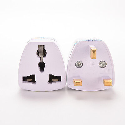 Universal Travel Adapter AU US EU to UK 3 Pin AC Power Plug Adaptor ConnectorES