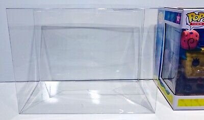 1 Box Protector for FUNKO POP! TOWNS    Scooby Doo, Ghostbusters, Spongebob Etc.