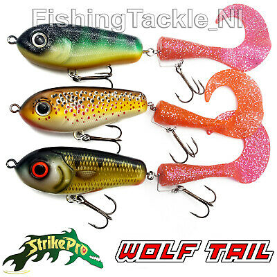 Strike Pro Spare Wolf Tail 2pk SIG Silver Glitter