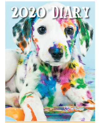 Dogs & Puppies - 2020 Pocket Diary Planner 2 Week View 90x155mm - Design Group