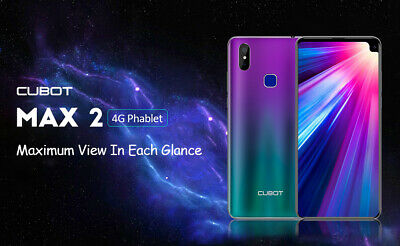 CUBOT MAX 2 4G teléfonos moviles Smartphone Android 9 Pie Octa Core 4GB + 64GB