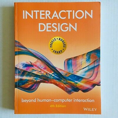 Interaction Design Beyond Human- Computer Interaction 4 th Edition 2015 Wiley