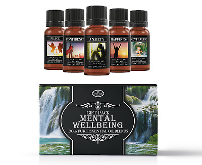 Mental Wellbeing Essential Oil Blend Gift Pack (SP10EOBMENTWELL)