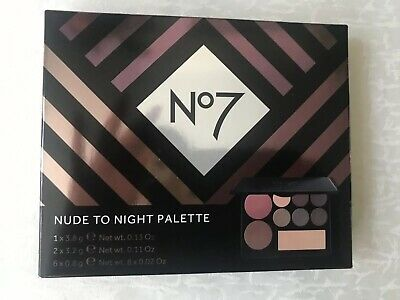 No.7 Nude to Night Palette - brand new in sealed box