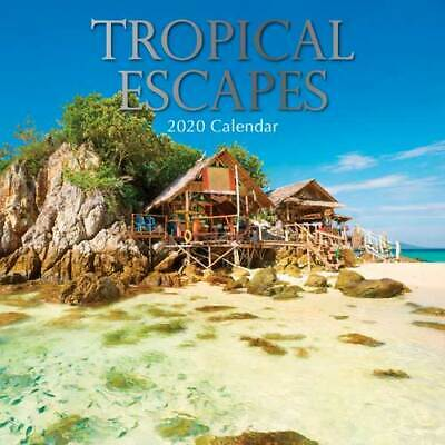 Tropical Escapes -  Wall Calendar 2020