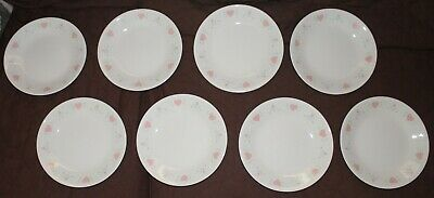 Corelle Dinnerware Forever Yours Peach Hearts ~~~ 24 Piece Set~~~ Nice!!