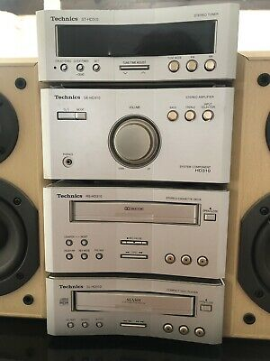 Technics Hd 310 Mini Component System Fully Tested Complete Immaculate Condition