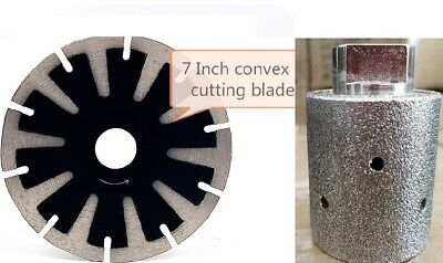 Diamond Convex Polishing Pad convex blade Granite Zero Tolerance Drum Concrete