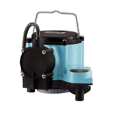 Water Pump Submersible 1/3 Hp Motor Float Operated Switch Dewatering Effluent