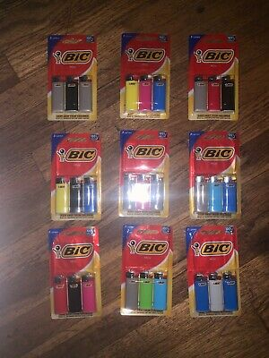 9 Packs of BIC Mini Lighter, 3-Pack, Assorted Colors