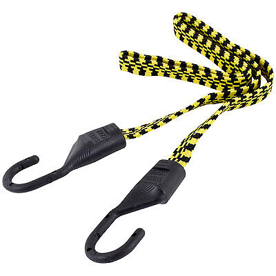 HAMPTON PRODUCTS-KEEPER Bungee Cords, Yellow & Black, 48-In., 2-Pk. 06104
