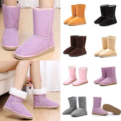 Hot Sale Women Girl's Winter Warm Snow Boots Shoes Size US 5-10 Free Shipping