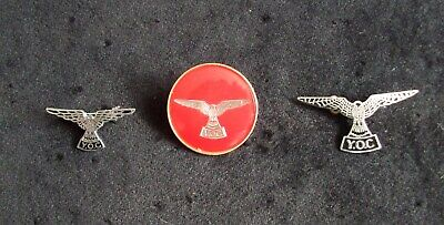RSPB Young Ornithologist Club Members Kestrel Badge 3 Different