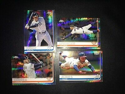 2019 Topps Chrome Prism Refractor Singles; Pick Your Players