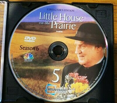 Little House On The Prairie Season 6 Disk 5 ONLY REPLACEMENT DVD