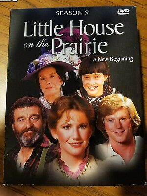 """Little House On The Prairie The Complete Season 9 DVD SET A to Z"""" Exclusive Book"""