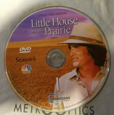 Little House On The Prairie Season 6 Disc 1 REPLACEMENT ONLY