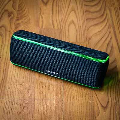 Sony SRS-XB31 Portable Bluetooth Speaker - Extra Bass, NFC, IP67 - Black