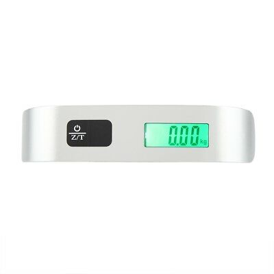 Portable Travel Tare Hanging Digital Suitcase Luggage Weight Scale 50kg 10g OS