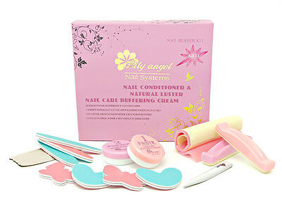 JAPANISCHE Maniküre Lily Angel P Shine Nail Systems Set Kit Japanese Manicure DE