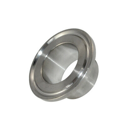 """OD 38MM 1.5"""" Sanitary Weld on Ferrule Tri Clamp Fitting SS316 Stainless Steel"""