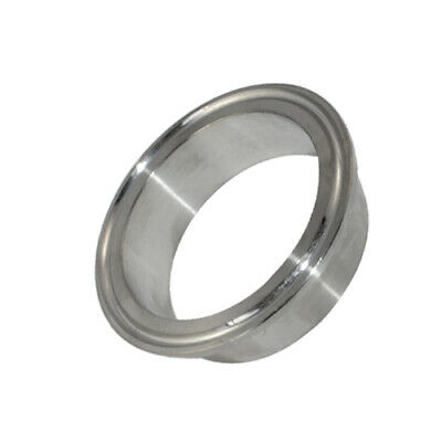 """OD 57MM 2.25"""" Sanitary Weld on Ferrule Tri Clamp Fitting SS316 Stainless Steel"""