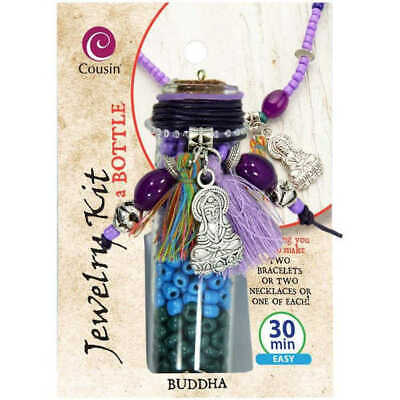 Jewelry Kit In A Bottle x Buddha - Makes two pieces of jewellery