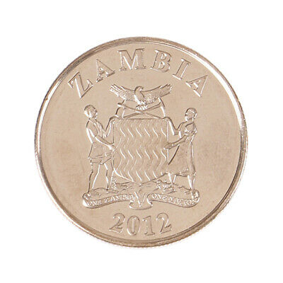 21mm Zambia 50Ngwee Coin AfricanWild animal Collection of commemorative coins~GN
