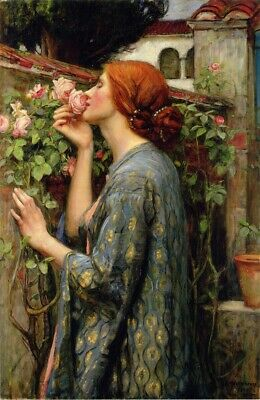 Puzzle 1000 pièces Waterhouse John William : The Soul of the Rose (53805)