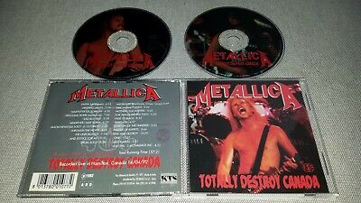 Metallica - Totally Destroy Canada - 2Cd Live In Hamilton 1992  Black Album Tour