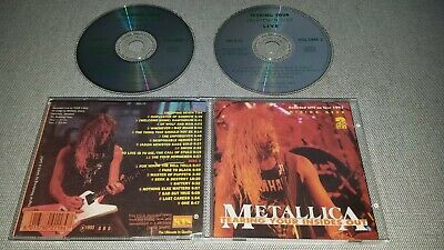 Metallica - Tearing Your Insides Out - 2Cd Live Milton Keynes 1993 - Rare Silver
