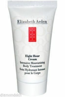 2x ELIZABETH ARDEN 8 eight hour intensive moisturising body treatment cream 30ml