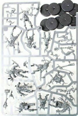 Warhammer 40000 Dark Imperium 10 Nurgle Death Guard Poxwalkers new On Sprue