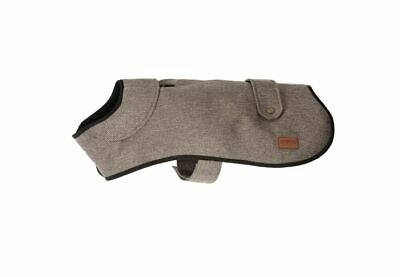 Ancol Heritage Herringbone Fleece Lined Extra Warm Dog Coat Hole For Harness