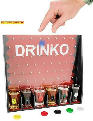 Drinko Drinking Game - Fairly Odd Novelties - Fun Social Shot Glass Party Game F